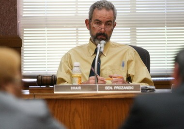 Sen. Floyd Prozanski, D-Eugene, chairs the Senate Judiciary Committee, which is beginning its deliberations on four bills tightening Oregon's firearm laws.