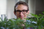 Jeremy Plumb, passionate cannabis gardener, weed science-geek and founding member of Farma dispensary at SE 9th and Hawthorne.