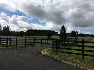 This is the entrance to a 13-acre property in Clackamas County that Cannacea was using for its marijuana cultivation operation. It includes a custom-built house. Cannacea CEO Tisha Siler was living there, but has been asked to leave, according to court records.