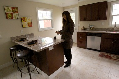The financial activitiese industry, which was walloped in the recession, added 2,300 jobs year-over-year in December â and real estate lead those gains with a combined 1,800 new jobs. The housing market is showing early signs of recovery and sales are up 19 percent in Portland in 2012 compared with 2011. As demand grows, inventory remains tight. Patty Brockman, a Portland real estate agent with Windermere Cronin & Caplan Realty Group, tours a new listing on Tuesday.