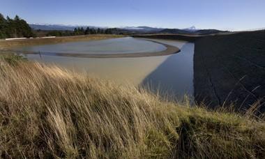 The Powell Butte Reservoir site in southeast Portland in 2010.