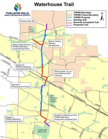 THPRD expands Waterhouse Trail, providing safety, convenience and ...