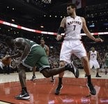 Andrea Bargnani is averaging 13.3 points and 3.7 rebounds for the Raptors. whose home fans have started booing him.
