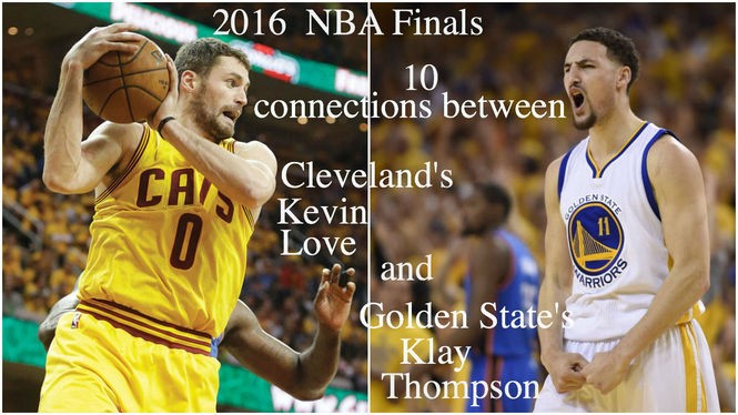 6904d92d168ae Kevin Love and Klay Thompson grew up together in Lake Oswego, Oregon ...