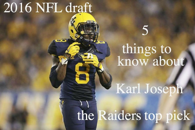 newest a3125 fa5b9 5 things to know about Karl Joseph, Oakland Raiders' top ...