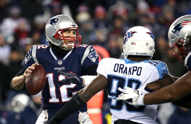 New England Patriots dominate the Tennessee Titans in NFL