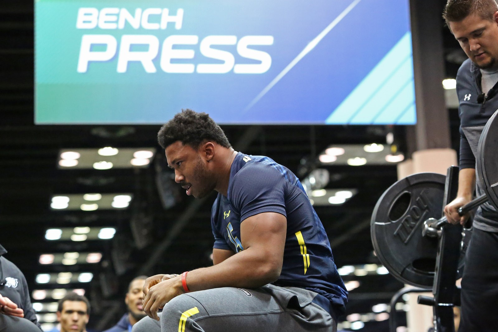 Who Were The Strongest Players At The 2017 Nfl Scouting Combine Bench Press Results Oregonlive Com