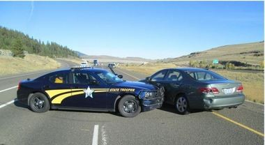 Two teenagers accused in the killing of Jacqueline Bell, a 71-year-old Cedar Mill woman killed inside her home, were taken into custody following a high-speed chase in eastern Oregon, according to the Washington County Sheriff's Office.