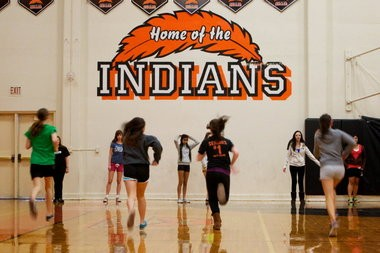 Roseburg must remove the word Indians from its gym and other facilities by July 2017 under a ban adopted by the Oregon Board of Education last year. But the Legislature is considering bills that would ease the ban.