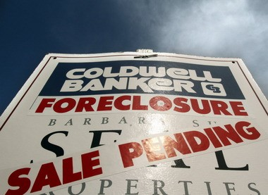 Lenders have stepped up foreclosure filings in the court system.