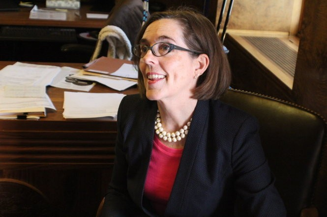 Gov. Kate Brown supported a compromise that would have repealed Oregon's clean fuels program for a transportation package. Now, she says the two should be addressed separately.