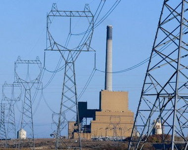 This file photo shows PGE's coal plant in Boardman, which is slated to shut in 2020. In the next few months, the utility plans to conduct a daylong test burn, using torrefied wood instead of coal to fuel the plant.