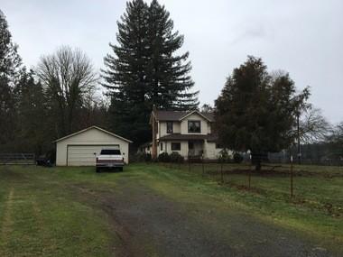 The Faulk family farm, where Wayne has lived since the age of 5.