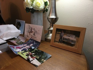 Several Christmas cards, at least, followed Wayne to his room at Milwaukie's Deerfield Village.