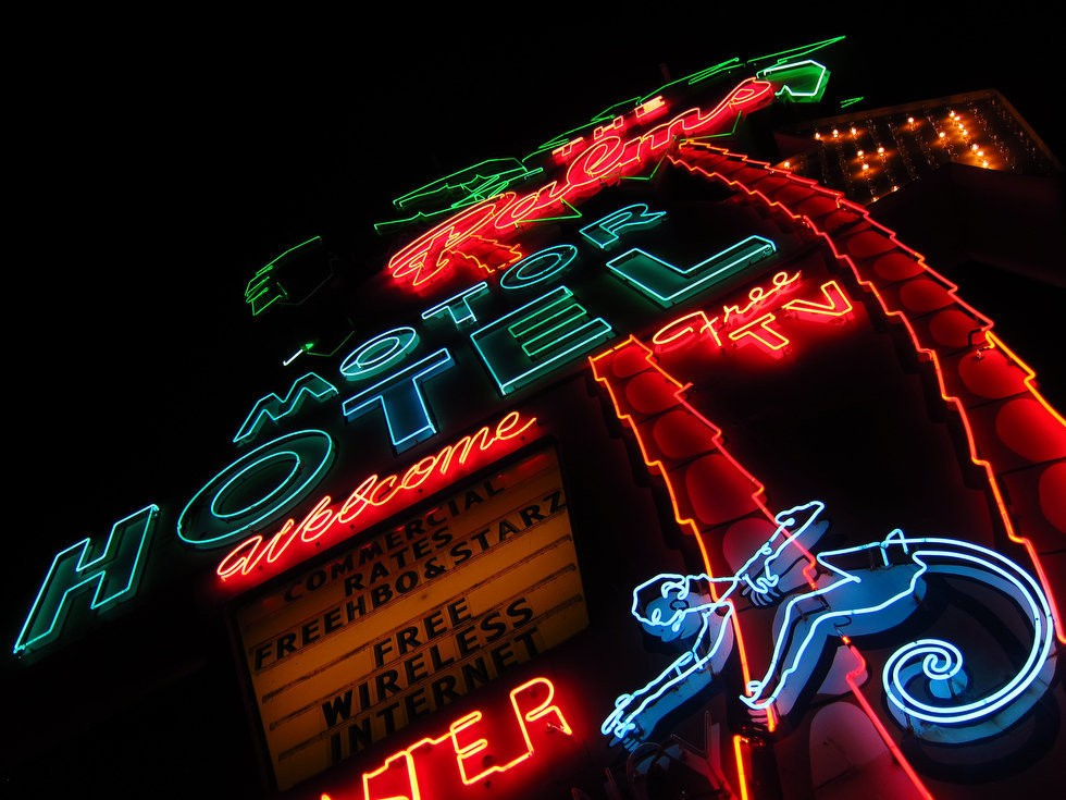Portland's past glows on with vintage neon signs