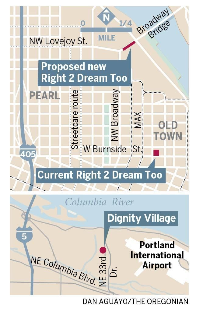 a4d220280e7 ... Portland, Right 2 Dream Too is embroiled in a public and political  fight not dissimilar to the one waged by Dignity Village supporters 13 years  ago.