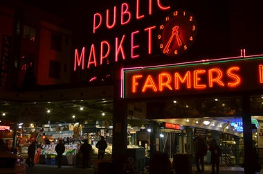 Pike Place Market is among Seattle's historic districts.