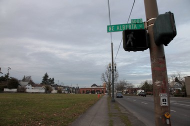 The lot at MLK and Alberta is just the latest ground zero for Portland's battle over gentrification.