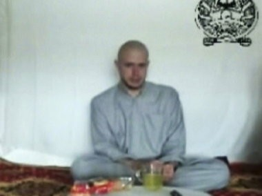 Sgt. Bowe Bergdahl is shown in an image taken from a Taliban video posted online in 2009.