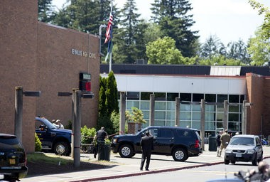 June 10, 2014 - Reynolds High School in Troutdale, where the shooting occurred Tuesday morning. Beth Nakamura/ The Oregonian