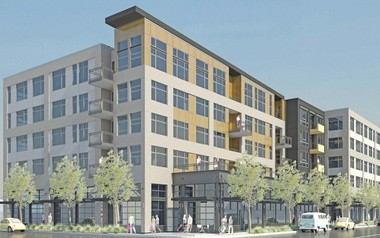 The upcoming Security Properties building will stretch to six stories on North Williams Avenue.