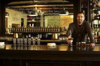 Produce Row Cafe owner Alan Davis closed the landmark Southeast Portland bar's doors after service Tuesday.