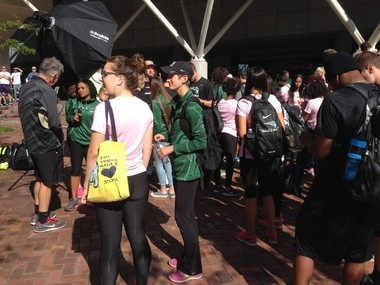 Portland State's track team participated Sunday, as well as the softball, tennis, football and other teams.