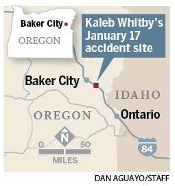 I-84 crash: Kaleb Whitby, crushed between 2 semi-trucks, tells the
