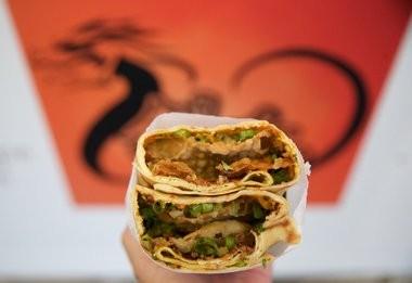 Downtown Portland's Bing Mi! serves jian bing, a savory Chinese crepe