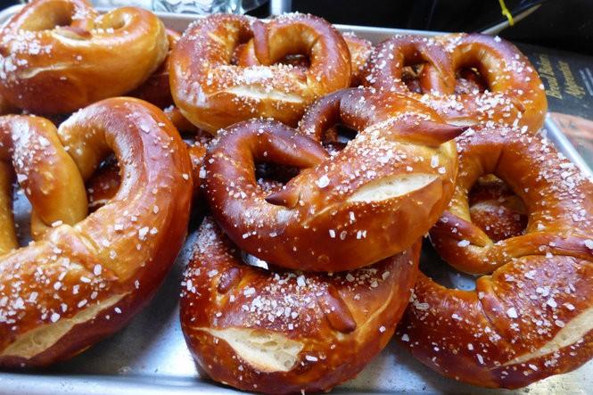 Wayfinder will feature fresh-baked pretzels from Podnah's Pit owner Rodney Muirhead.