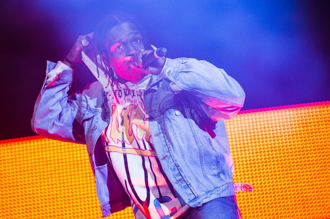 A$AP Rocky and special guests perform on the main stage at the Sasquatch! music festival in the Gorge Amphitheatre in George, Washington, on May 27, 2016. (David Greenwald/The Oregonian)