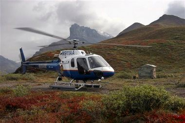 Alaska State Troopers helicopter crashes during rescue