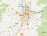Air quality stations from Southeast Portland to Silverton registered on the moderate scale Saturday afternoon. This means that a small number of people who are particularly susceptible to air pollution might have health concerns.