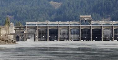 Bonneville Dam.
