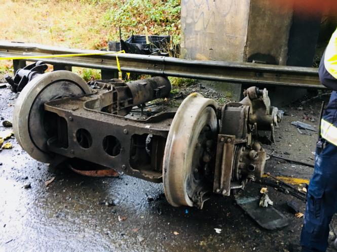 Portland-bound Amtrak train derails in Washington