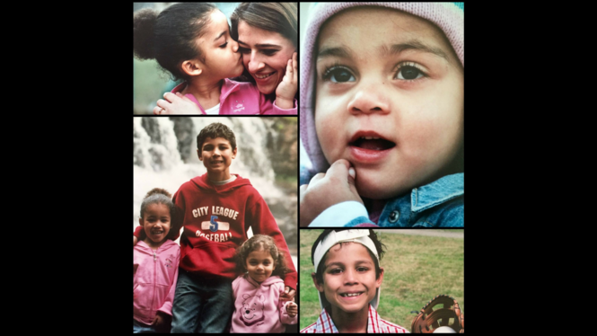 This photo collage shared on Facebook shows Markis, 8, Hannah, 4, and Abigail, 2, Hart at the time of their adoption in 2006 by Jen and Sarah Hart, according to a captionwrittenby Jen Hart.A friend told child welfare investigators that Jen Hart described Hannah as morbidly obese when she was adopted.