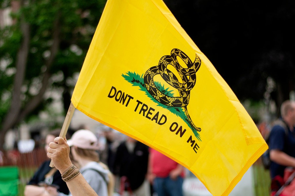 Don/'t Tread on Me with Arms