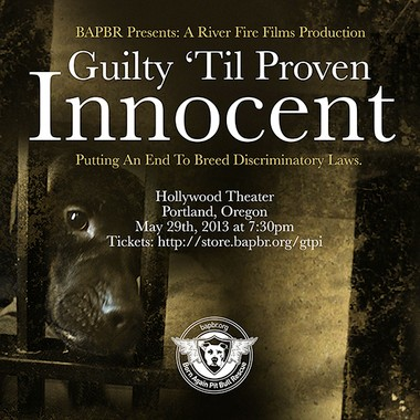 "A screening of ""Guilty 'Til Proven Innocent"" will take place at 7:30 p.m. on Wednesday, May 29, at the Hollywood Theatre."