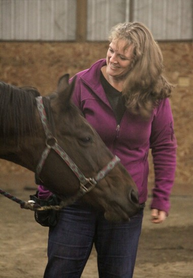 Trainer Kelly Ballance works with a variety of animals, including horses, birds and dogs.