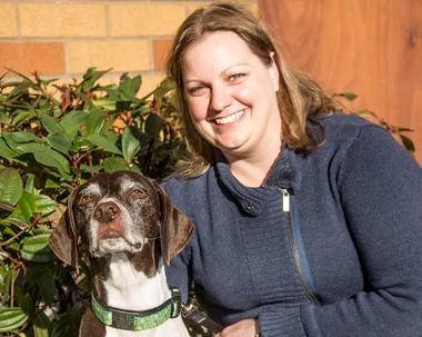 Portland veterinary technician Megan Brashear was selected as the 2014 Veterinary Technician of the year by Petplan.