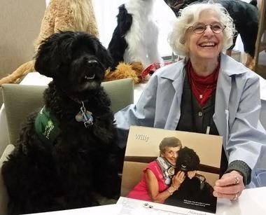 A calendar featuring the therapy dogs at Providence St. Vincent Medical Center is available for $12 at both of the Southwest Portland hospital's gift shops.