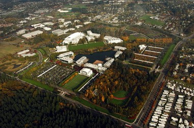 Nike is considering where to build a major expansion of its Oregon headquarters, either at a site near downtown Portland or on or near its World Headquarters campus next to the Beaverton city limits.