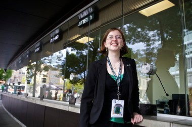 Nicole Tillett is one of four ticket service coordinators for the Portland Timbers, responsible for keeping track of some of the team's 15,250 season ticket holders. Now in their third season, the team has a 97 percent season ticket renewal rate.