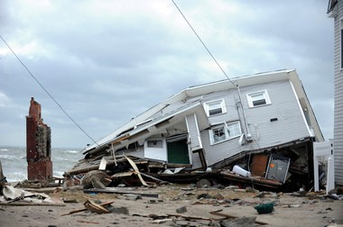 $50.5 billion in federal spending to help areas like this recover from Hurricane Sandy has become an issue already in the 2014 election.