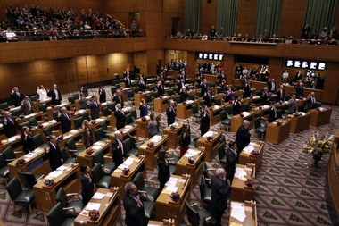 The Oregon Legislature.