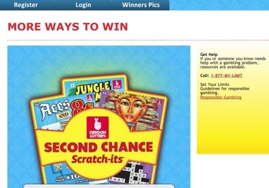Oregon Lottery scratch-off ticket didn't pay off? You get to try