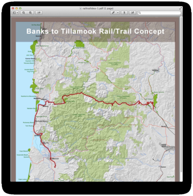 Proposed Salmonberry Trail