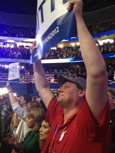Kevin Hoar pictured at the Republican National Convention in 2012.
