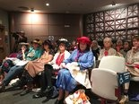 A group of women who call themselves the Raging Grannies sang testimony urging the Portland City Council to divest from Wells Fargo.