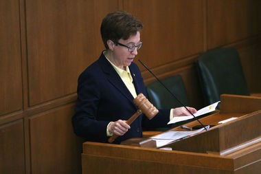 House Speaker Tina Kotek, D-Portland, pictured on Friday, July 7, 2017, the day the Legislature adjourned its annual session.